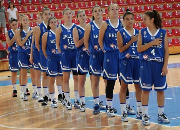 Ευρωπαϊκό Κορασίδων U16β : Ελλάδα-Βοσνία Ερζεγοβίνη 52-44. Ένα βήμα από την επίτευξη του στόχου της.