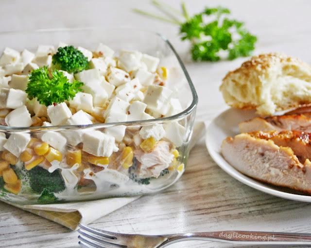 błyskawiczna sałatka, najlepsze sałatki, daylicooking, proste danie na imprezę, sałatka na majówkę, Małgorzata Kijowska