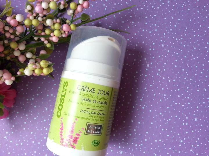 crème de jour pour peaux grasses coslys
