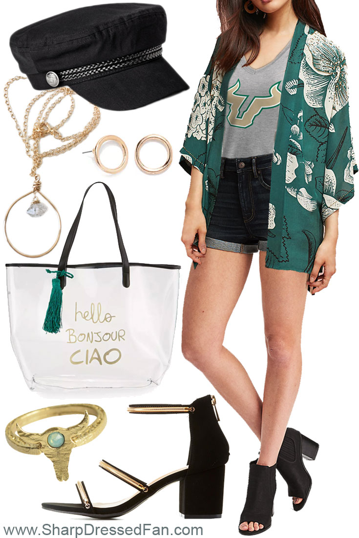 USF Bulls women's fashion outfit