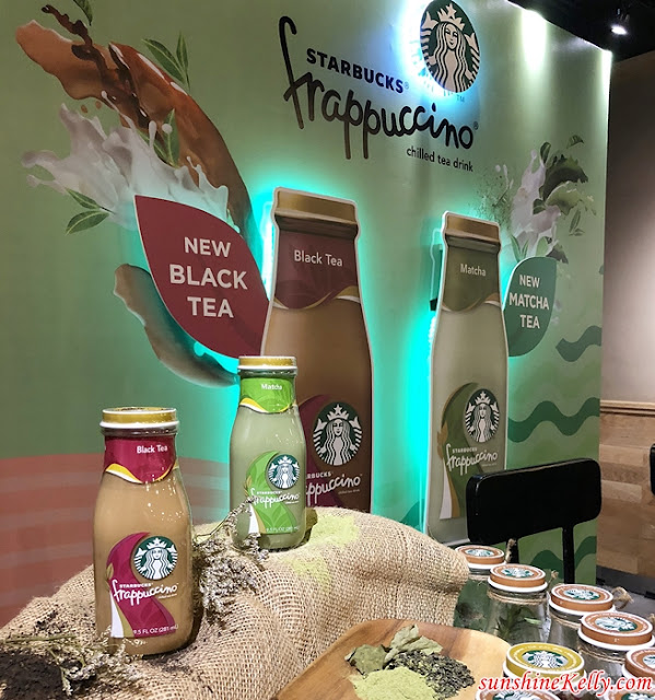 Starbucks, Starbucks Malaysia, Starbucks New Ready-To-Go Bottled Drinks, Starbucks Bottled Matcha Tea Frappuccino®,  Starbucks Bottled Black Tea Frappuccino®