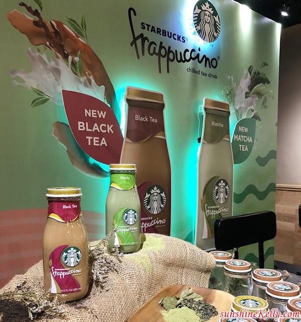 Starbucks, Starbucks Malaysia, Starbucks New Ready-To-Go Bottled Drinks, Starbucks Bottled Matcha Tea Frappuccino®,  Starbucks Bottled Black Tea Frappuccino®