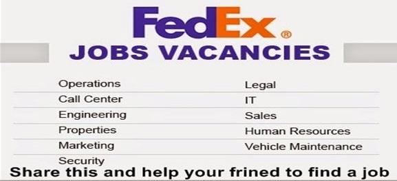 FedEx Needed Workers ~ JOBS4U