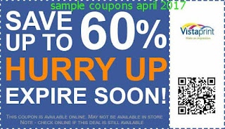 Vistaprint coupons april 2017
