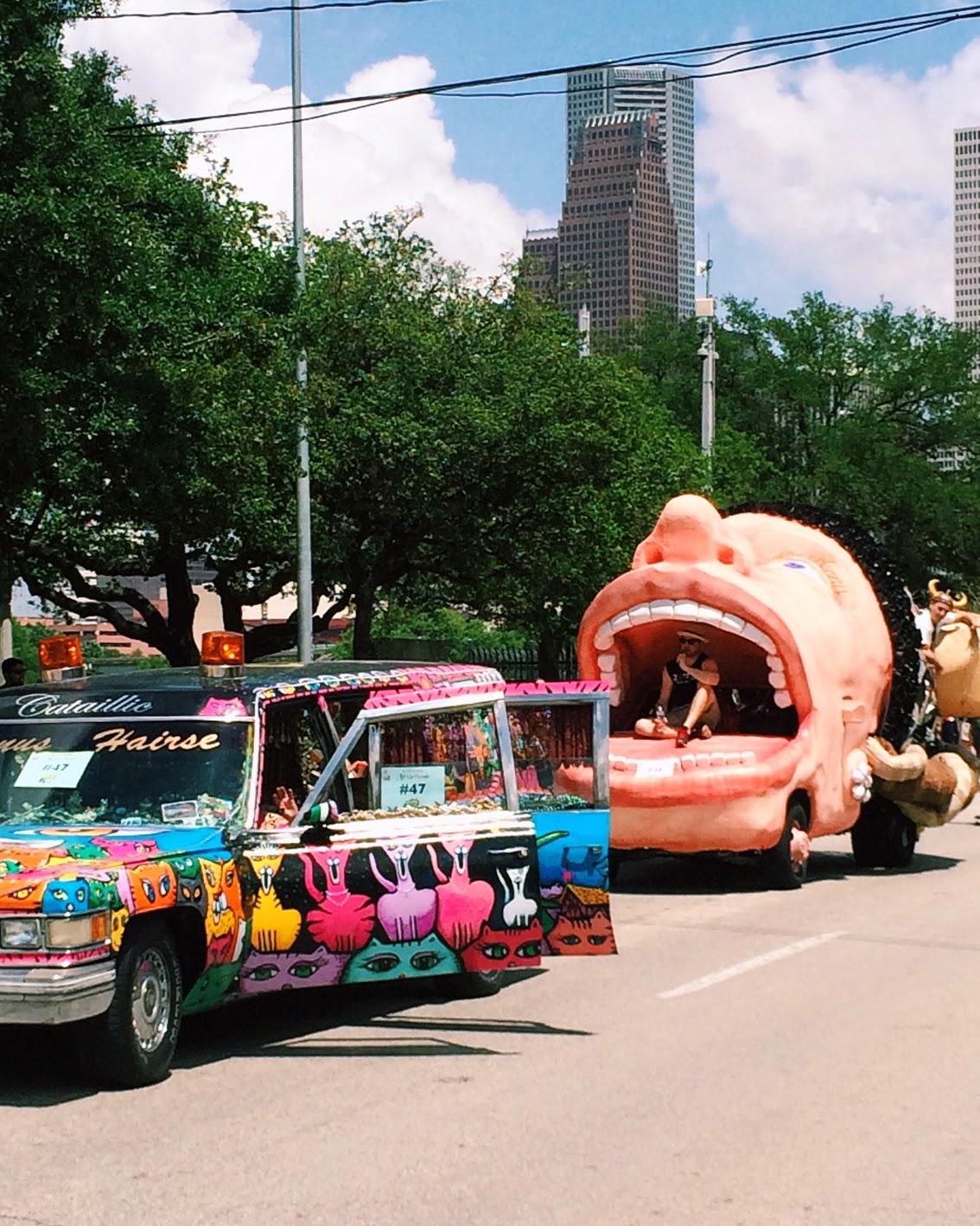 Houston Art Car Parade 2014