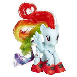 My Little Pony Posable Figures Rainbow Dash Brushable Pony