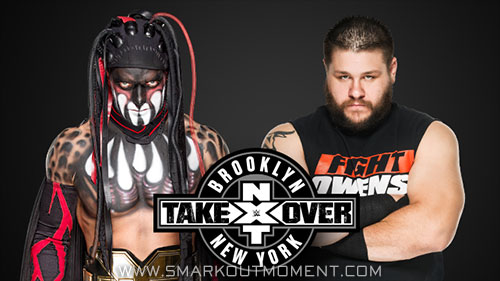 WWE NXT Takeover Brooklyn event Kevin Owens vs Finn Balor match