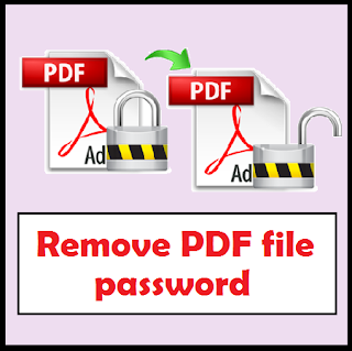 Unlock password, Crack password, remove password, unlock pdf file