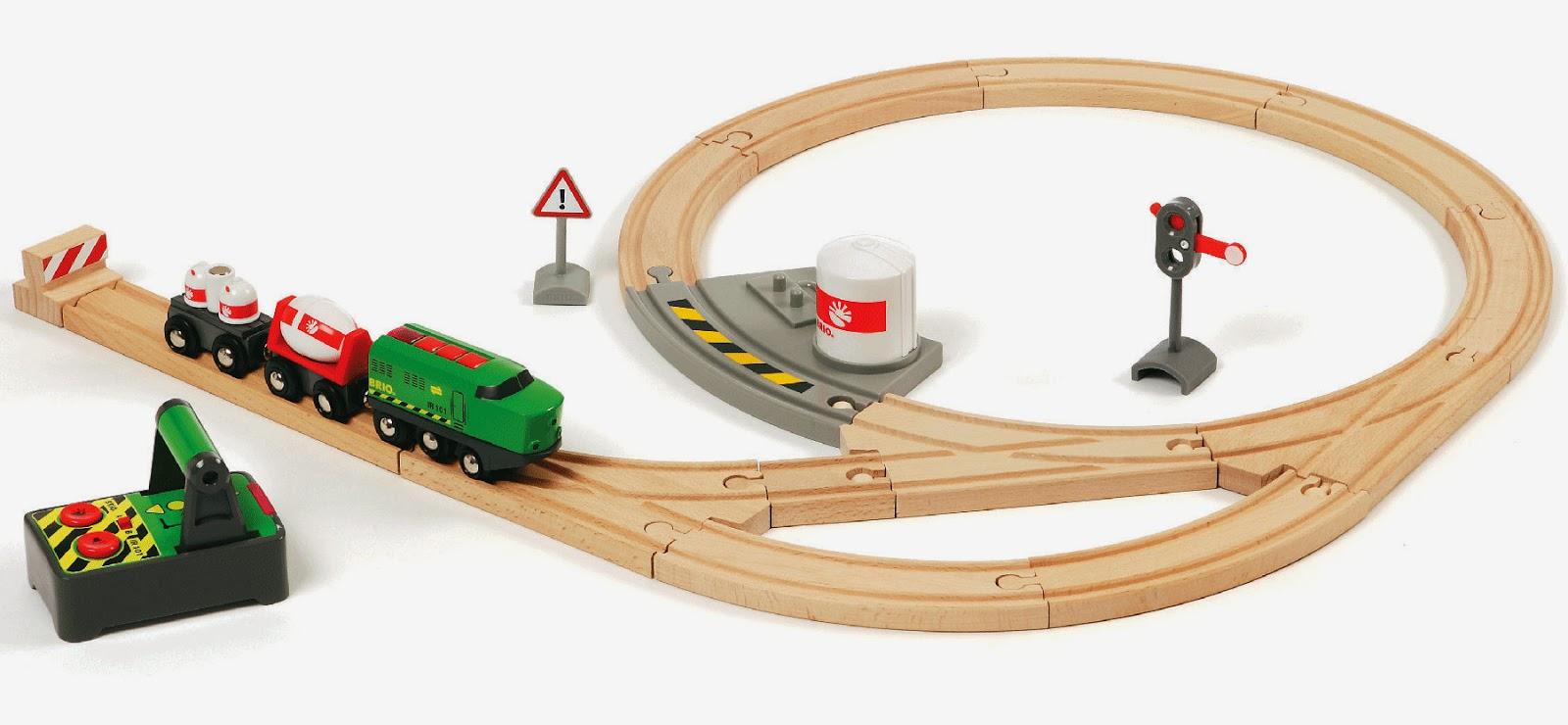 The Brick Castle Brio Remote Control Railway Set Review For The