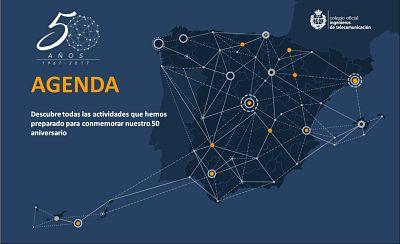Colegio Oficial Ingenieros de Telecomunicación 50 Aniversario