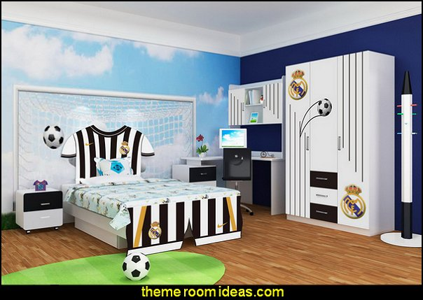 soccer bedroom