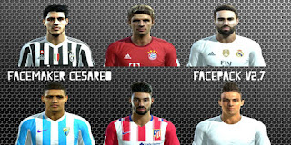 Facepack V4 2016 Pes 2013 By Facemaker Cesareo