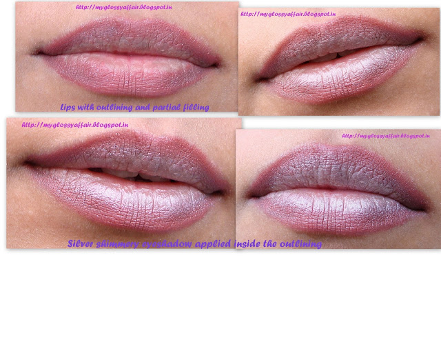 two tone lip makeup