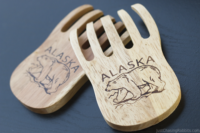 Bear Salad Claws from Alaska are such a cute souvenir!