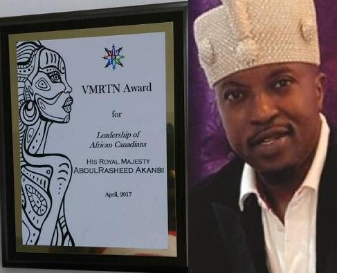 The Oluwo of Iwoland, Oba Abdul Rasheed Adewale Akanbi