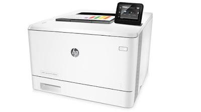 HP Color LaserJet Pro M452dw Driver & Wireless Setup - Manual & Software