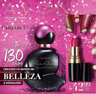 Campaña 14 Avon Cosmeticos