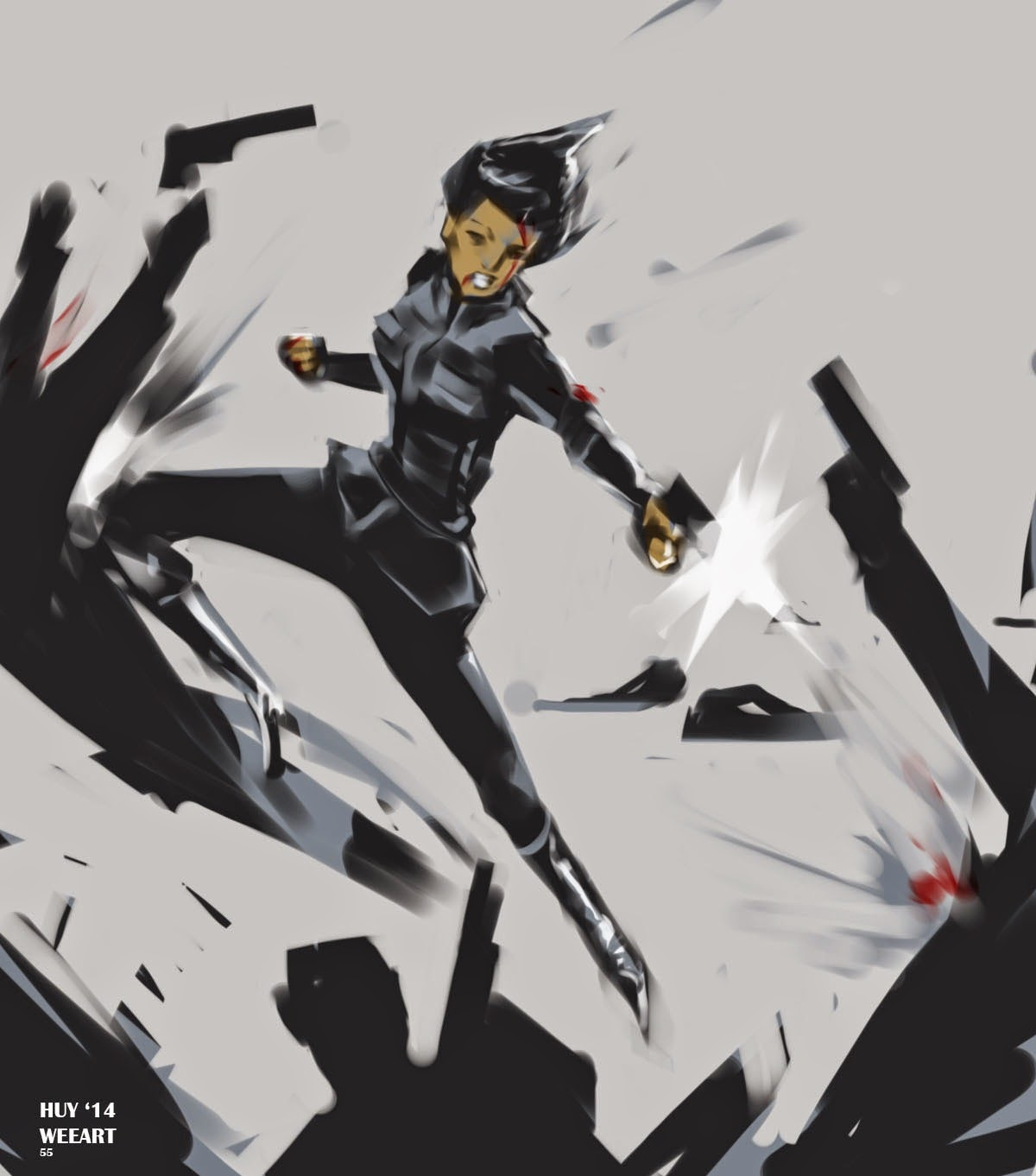 Fashion And Action Amazing Agents Of Shield Fan Art By Huy