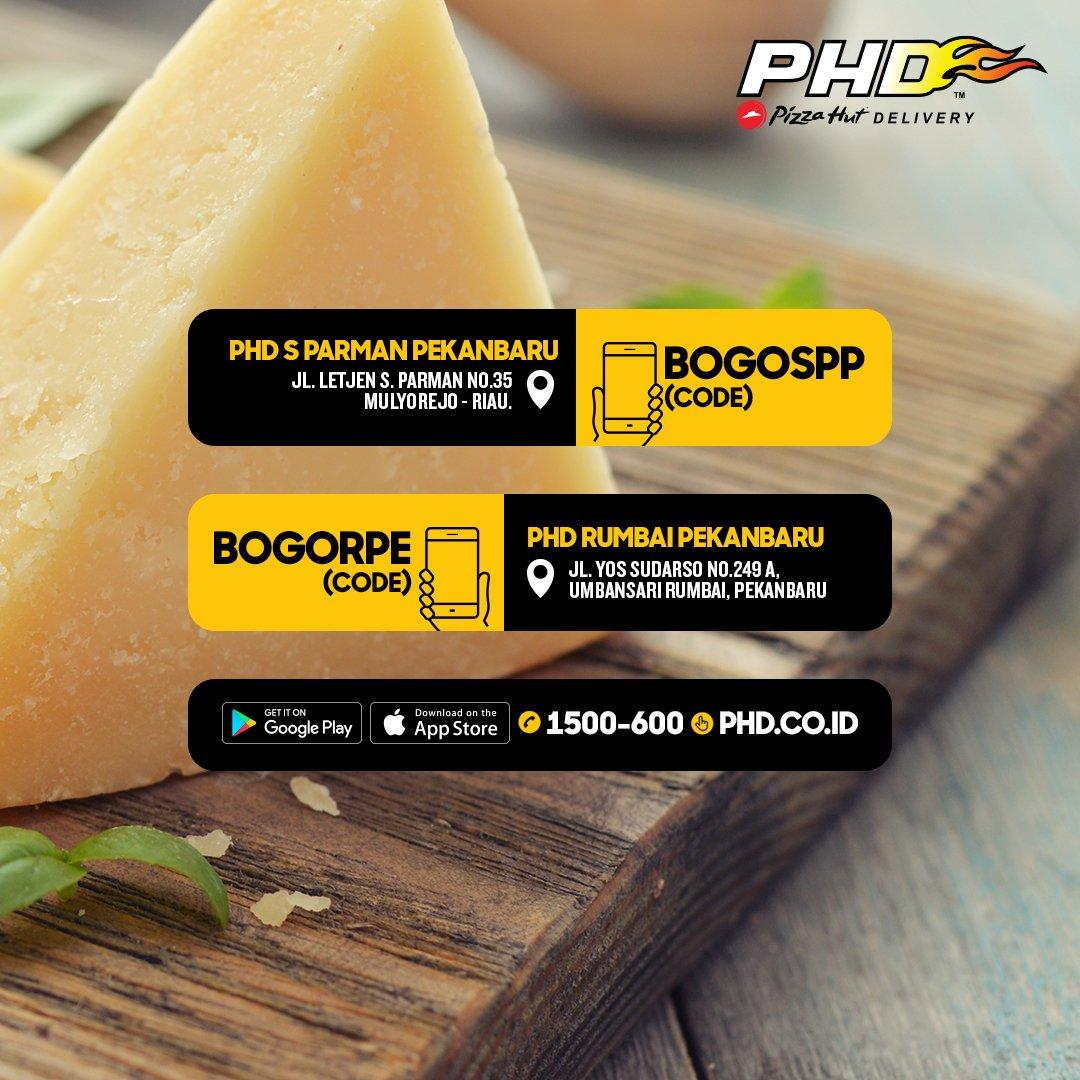 PHD - Promo Opening PHD Pekanbaru Gratis Meaty Pizza