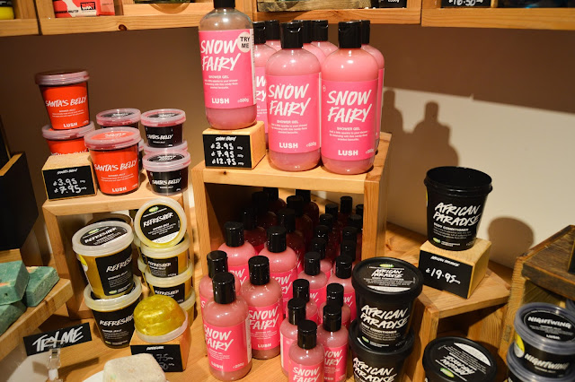 Lush Chester Halloween and Christmas Blogger Event