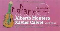 Vermut als Indians con Alberto Montero y Xavier Calvet