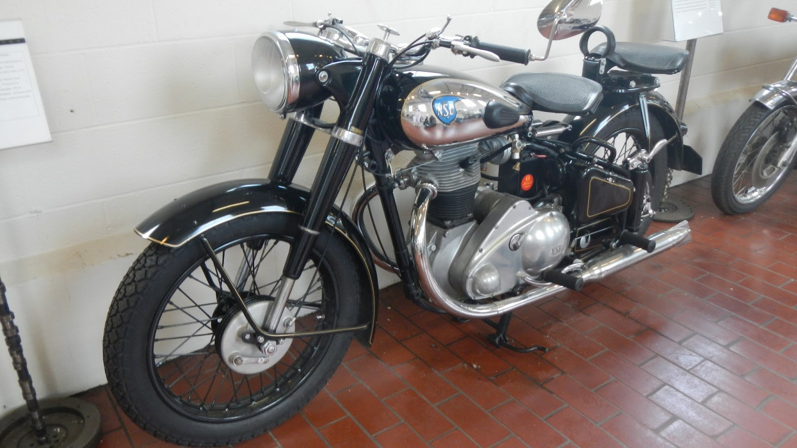 bf200e87 One more motorcycle… This is a NSU 501 Konsul II- 1952 NSU began producing motorcycles  in 1901, four years before they began producing cars.