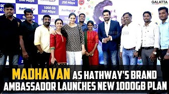 Madhavan as Hathway's brand ambassador launches new 1000GB plan
