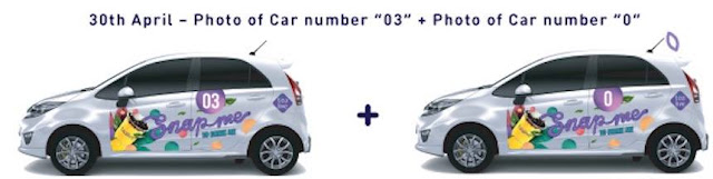Tealive Car Number Photo MOOLA Promo