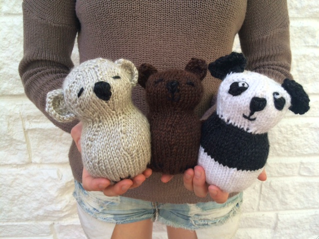 Creative Designs By Sheila Zachariae New Toy Patterns To Knit And
