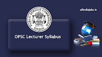 OPSC Lecturer Syllabus