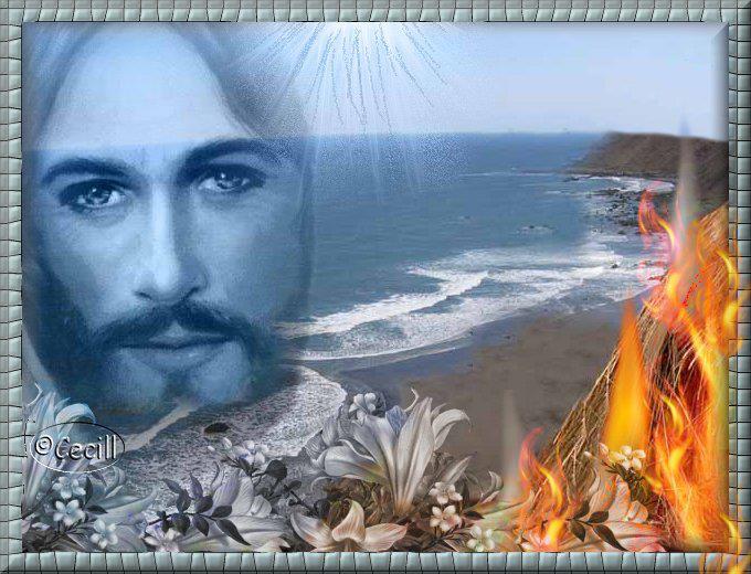 Fondo De Pantalla 3d De Navidad De Santa Vas De Luna Hd: Rostro De Jesus Y La Barca
