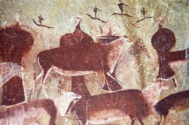 Prehistoric Rock Art of Africa/Drakensberg, South Africa