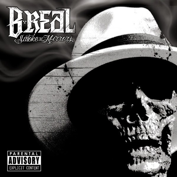B-Real - Smoke n Mirrors Cover