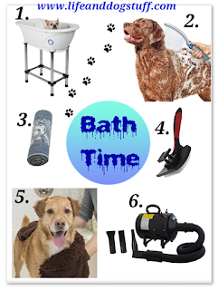 Dog bath time products to shop
