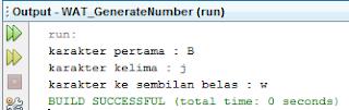 Mengambil Karakter dari String menggunakan Method charAt()