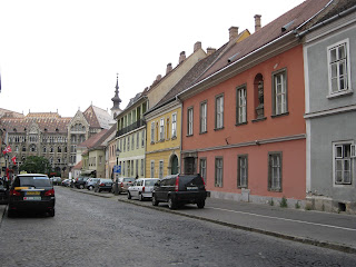 Medieval streets in Castle Hill