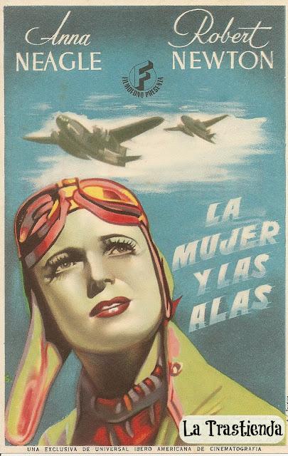 Programa de Cine - La Mujer y las Alas - Anna Neagle - Robert Newton