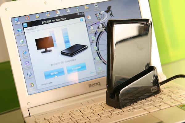 2009 年 WD 外接式硬碟新品發表會,賀大新攝影