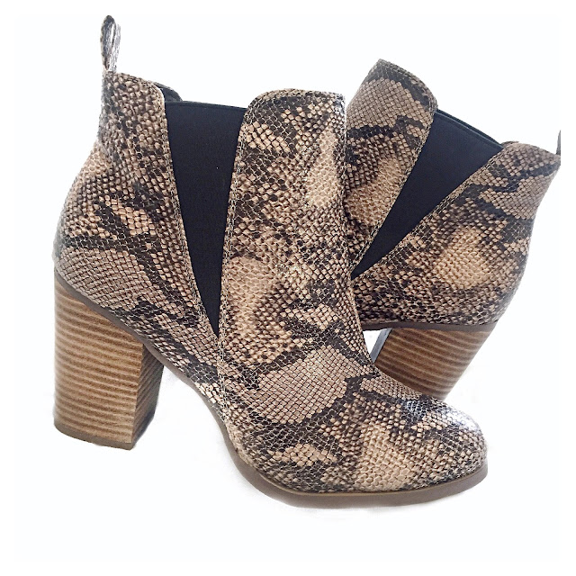 river island snakeskin boots