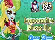 Monster High Lagoonafire Freaky Fusion