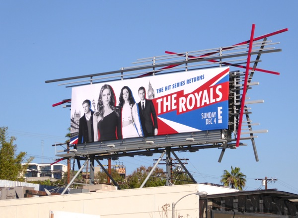 Royals season 3 billboard