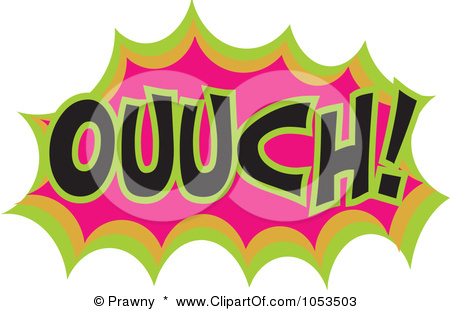 Image Gallery ouch clip art funny