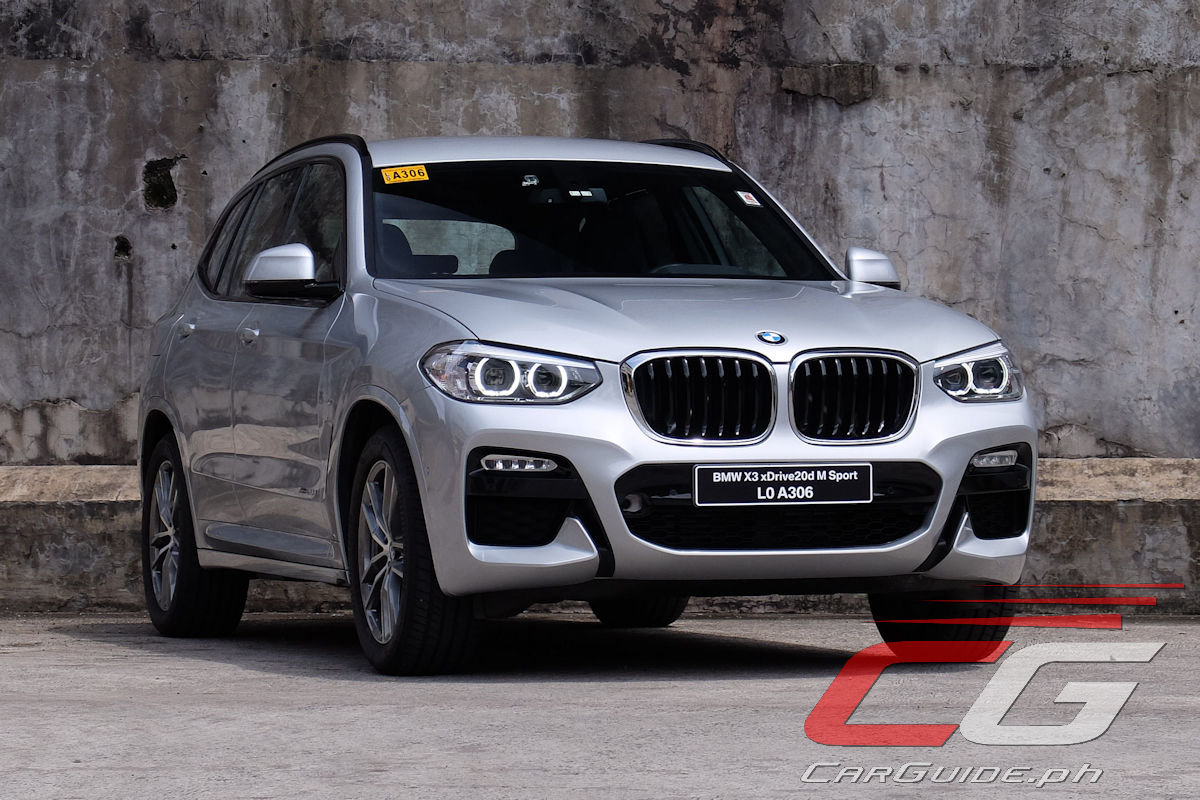 BMW Ultimate Driving Experience >> Review: 2018 BMW X3 xDrive20d M Sport | CarGuide.PH ...