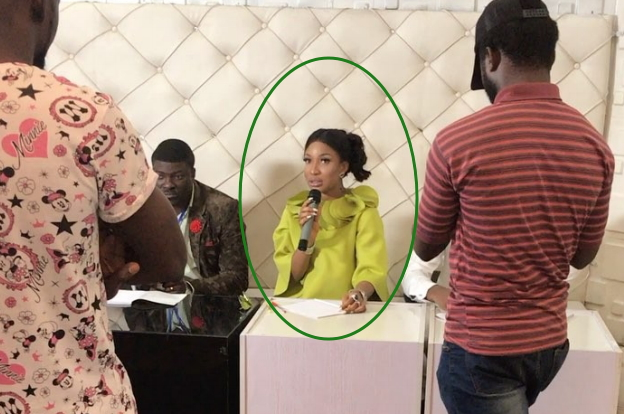 tonto dikeh acting audition abuja