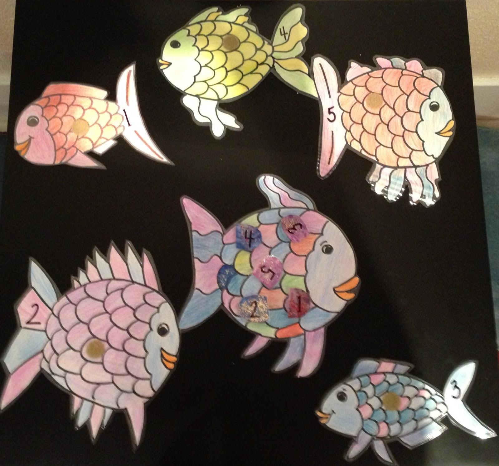 The Rainbow Fish Printable Game Miss Bridget S Classroom