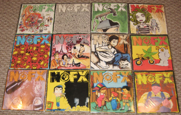 """NOFX to relaunch 7"""" of the Month Club"""