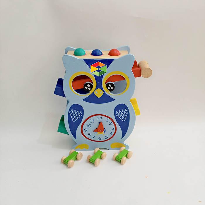Sliding Car Owl 3in1