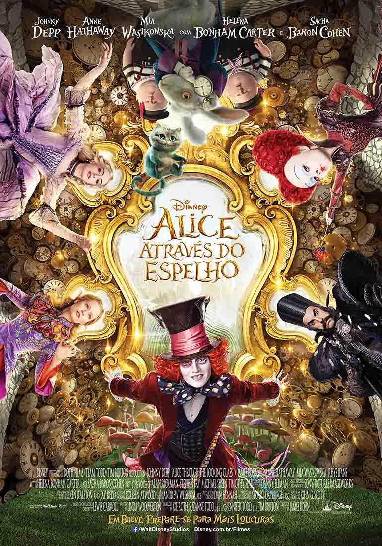 Alice Através do Espelho 3D Torrent – BluRay 1080p Dual Áudio (2016)