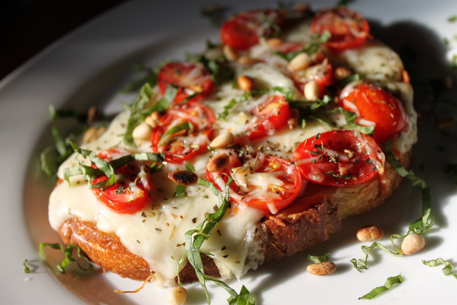 Tartine Margherita and a Classic French Vinaigrette   The ...  Tartine Margher...