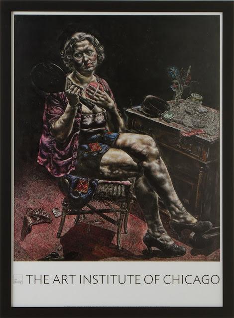 Ivan Albright Dorian Gray Poster